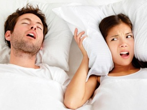 ronco e dormir bem